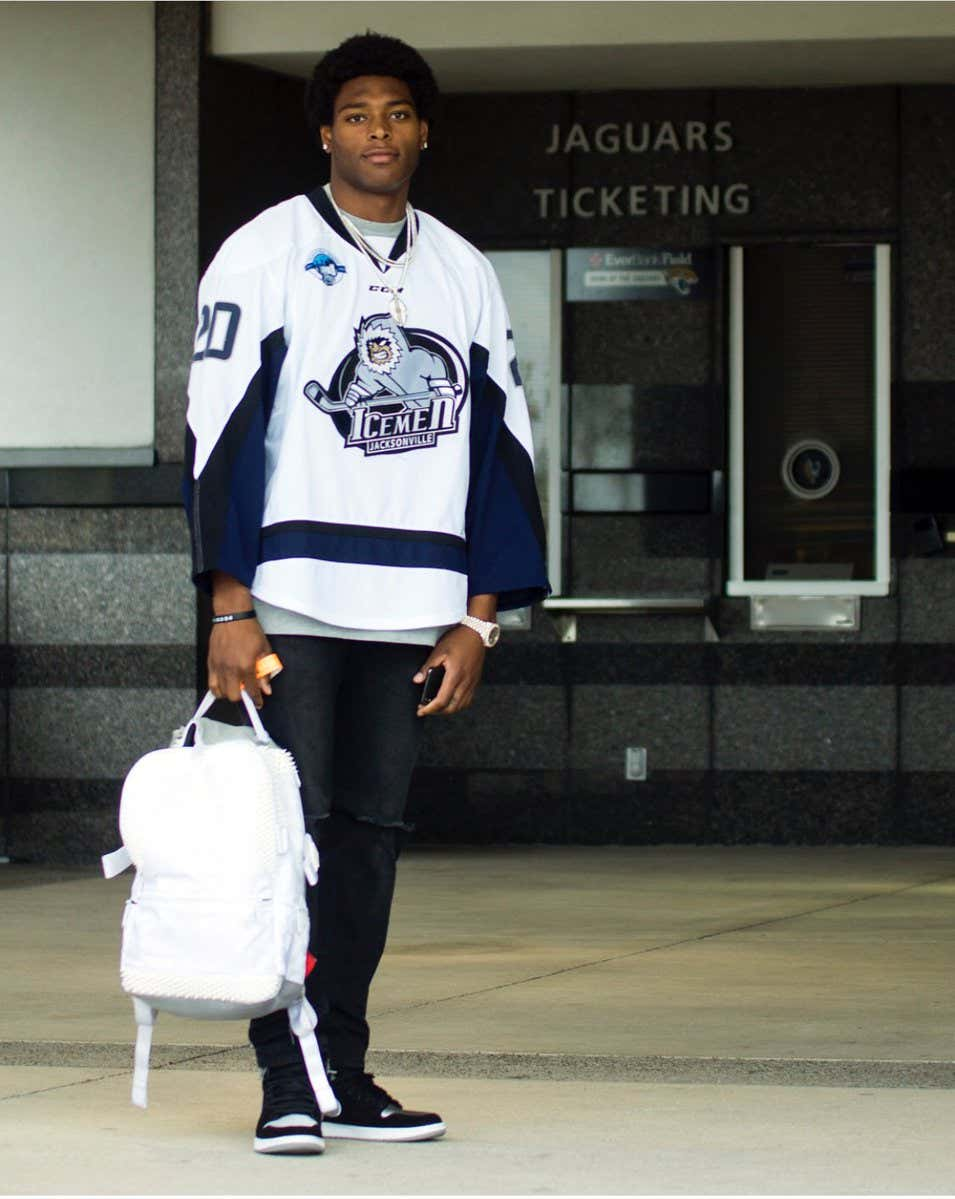 894409885 It's The Moment We've All Been Waiting For. It Sure Sounds Like We're Going  To See Jalen Ramsey On The Ice