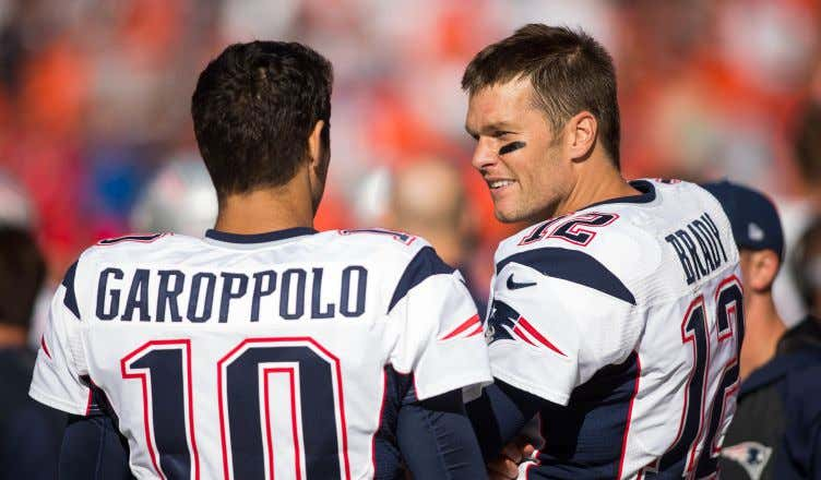 8c40f5208 The Patriots Wouldn t Be Here if They d Kept Jimmy Garoppolo. People ...