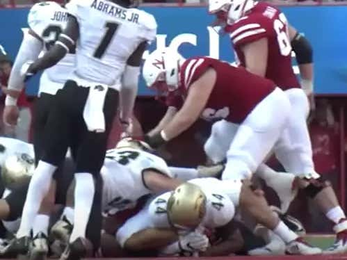 Video Released Showing 2 Colorado Players Dirty Hit On Nebraska QB Resulting In Injury