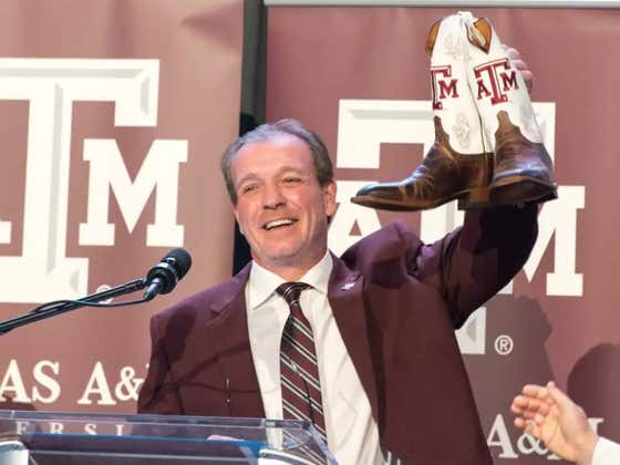Jimbo Fisher Would Go Vegan For A Year If It Means He'd Beat Alabama