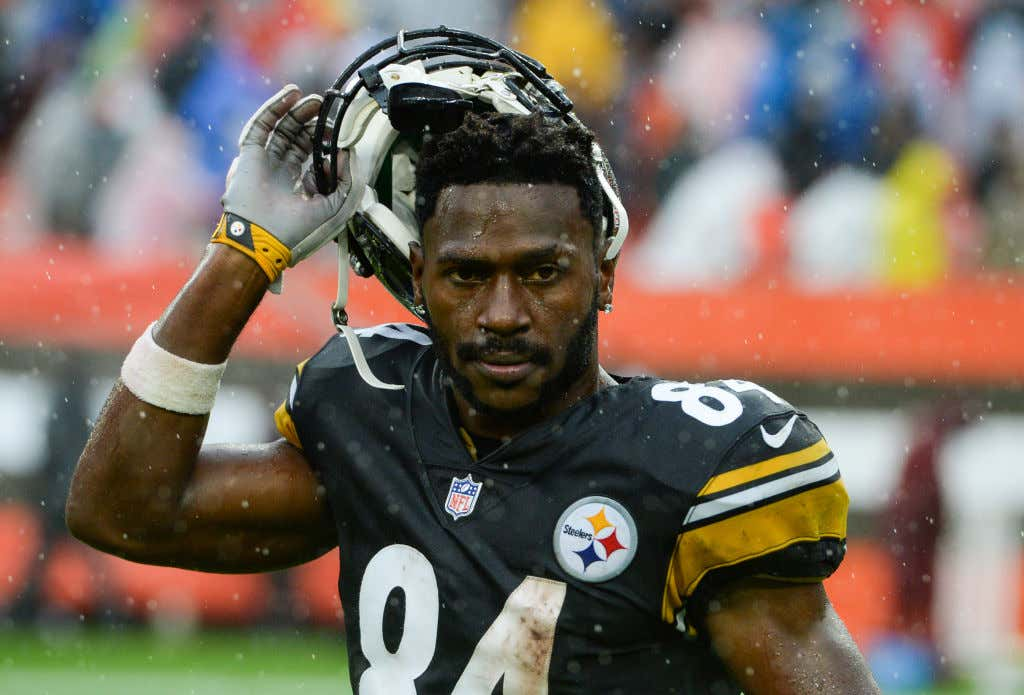 2a9c21ccf22 On Today's Episode Of As The Steelers Turn: Antonio Brown Reportedly Didn't  Show Up For Meetings And Film Review Yesterday