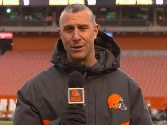 Browns Sideline Reporter Suspended 8 Games For Arguing Bad Calls With Officials On The Field