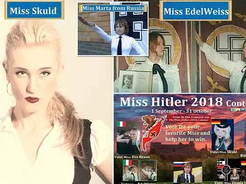 Russia Based Beauty Pageant 'Miss Hitler 2018' Has Been Cancelled