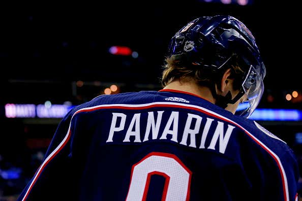 promo code a39ec 52d33 The Blue Jackets Can Kiss Artemi Panarin Goodbye - Barstool ...