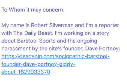 7ca53f720dc7 25) It s Come To My Attention That Some Nobody Robert Silverman of ...
