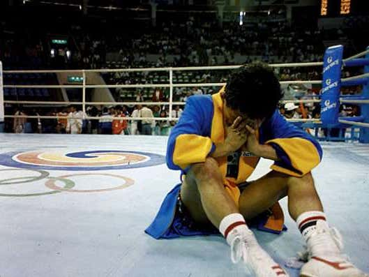 On This Date in Sports September 22, 1988, Boxing Chaos on an Olympic Level