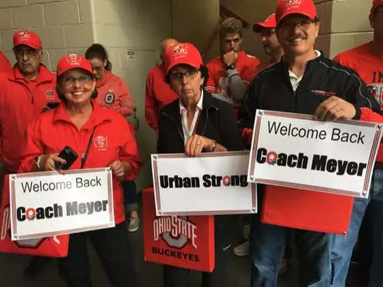 "How Are Ohio State Fans Welcoming ""Urban Strong"" Meyer Back?!"