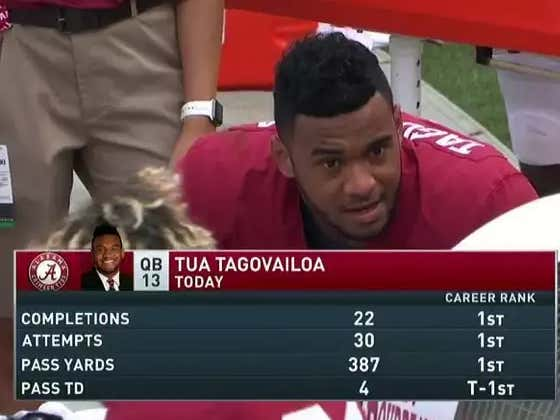 What Tua Tagovailoa Is Doing Right Now At Alabama Is Remarkable