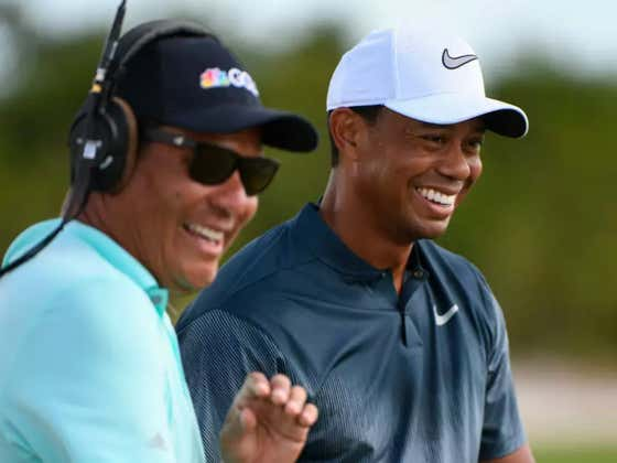 """""""Tiger Woods Wins!"""" - New podcast with Tiger's close buddy and golf analyst Notah Begay"""