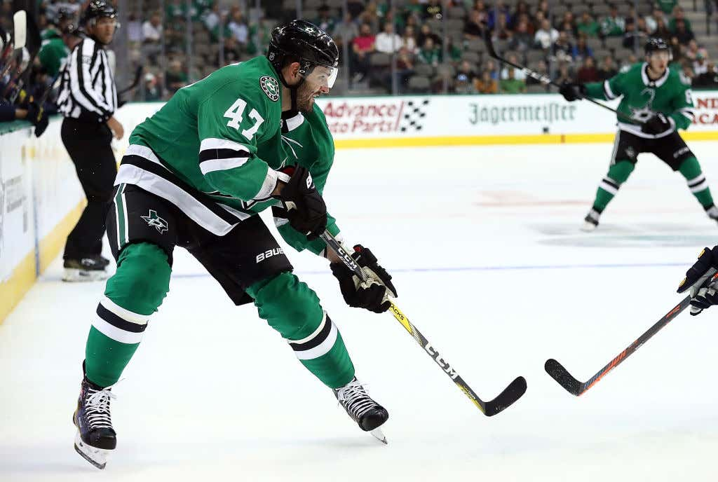 new styles ac344 01206 Here's A Quick Story About How Alex Radulov Had To Wear A ...