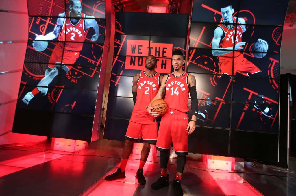 Toronto Raptors host their media day before going to Vancouver for their training camp.