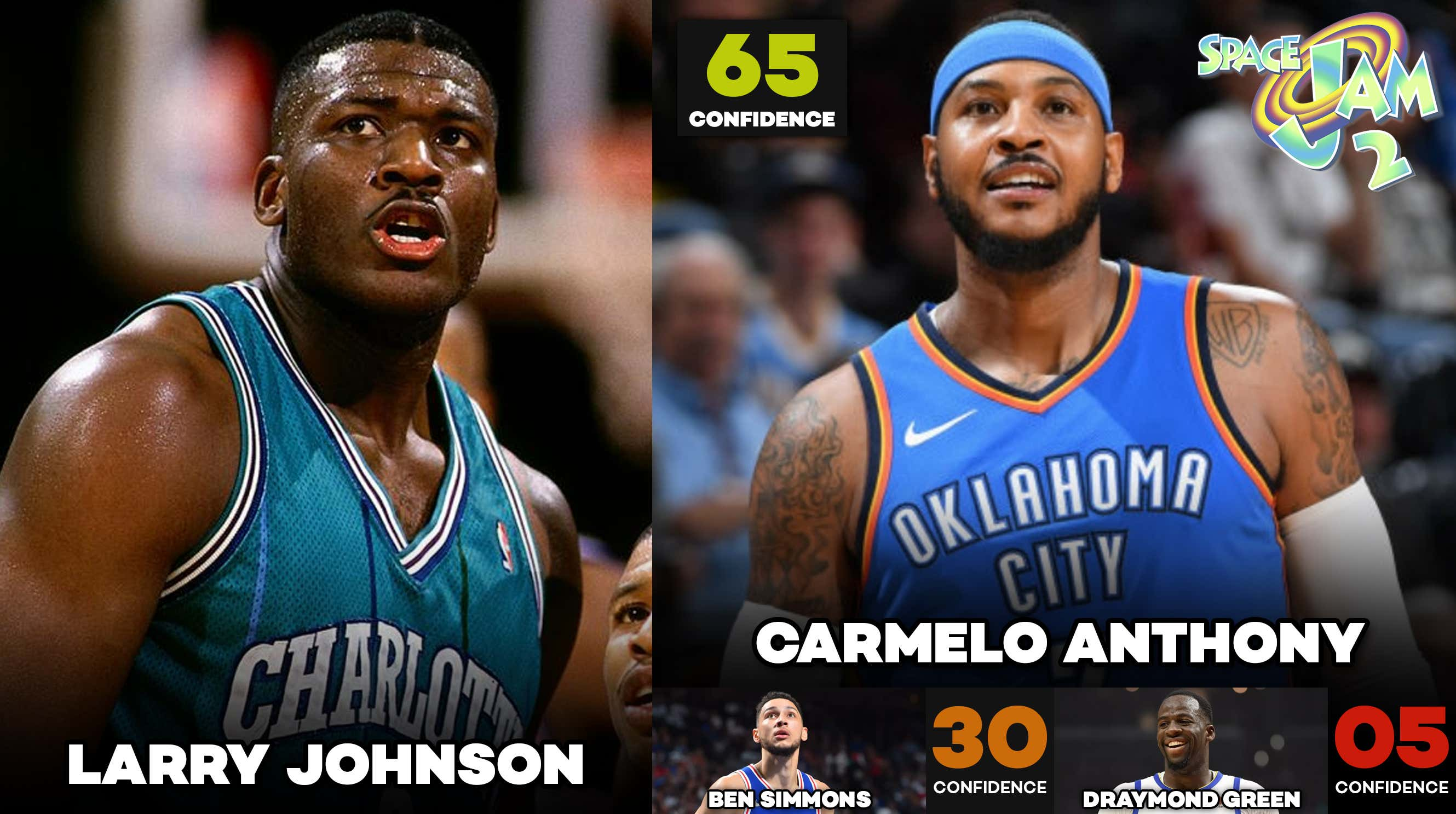I think Carmelo might be one of those NBA stars to ask LeBron for a spot in  the movie and 8f689568b