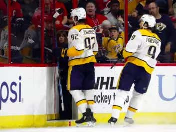 Ryan Johansen Had The Best Goal Celebration Of All Time Today