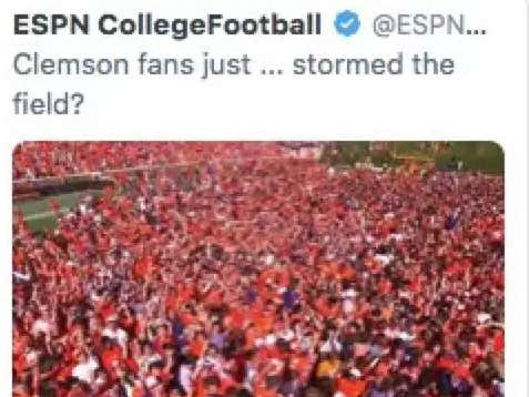 Better CFB Reaction: Getting Mad Over Clemson Fans Storming Field Or Moms Thinking Ohio State Has Pot Leaf Stickers On Their Helmets?
