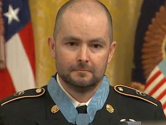 Now Fighting Cancer, SSgt. Ronald J. Shurer II Receives Medal Of Honor For Incredible Bravery In Afghanistan