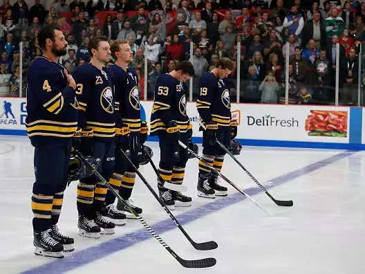 I Am Absolutely Hammering The Buffalo Sabres O/U Point Total