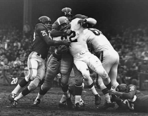 Giants Take Down Jim Brown