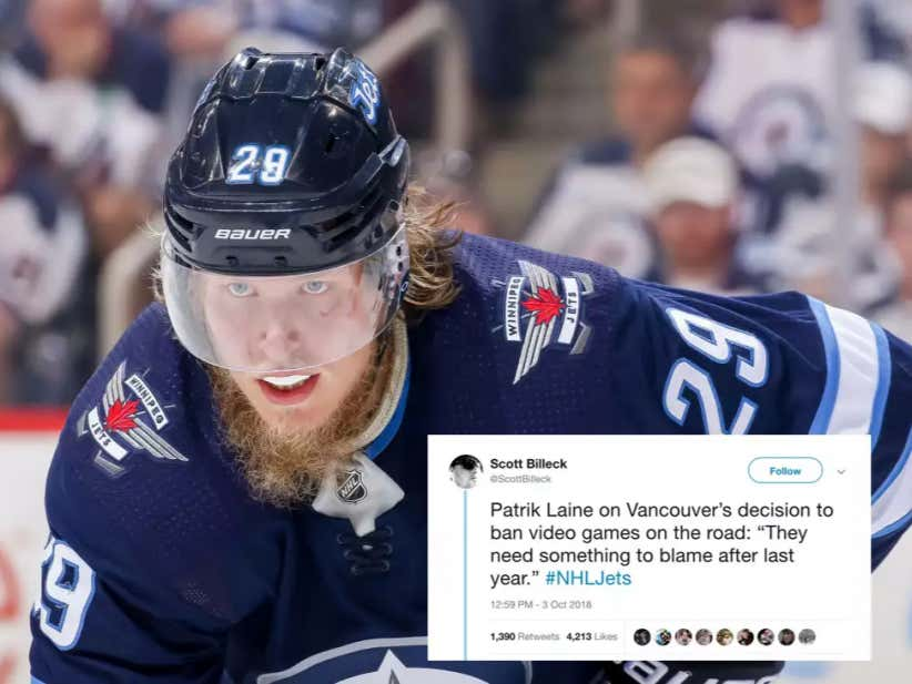 The Season Hasn't Even Officially Started Yet But Patrik Laine Already Ended It For The Canucks