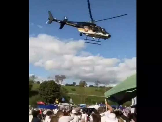 """I Still Can't Get Over The Penn State Police Department Using Helicopters To Break Up """"Rowdy"""" Tailgaters"""