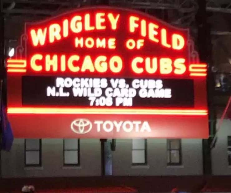 How the heck are the Cubs the first team eliminated?