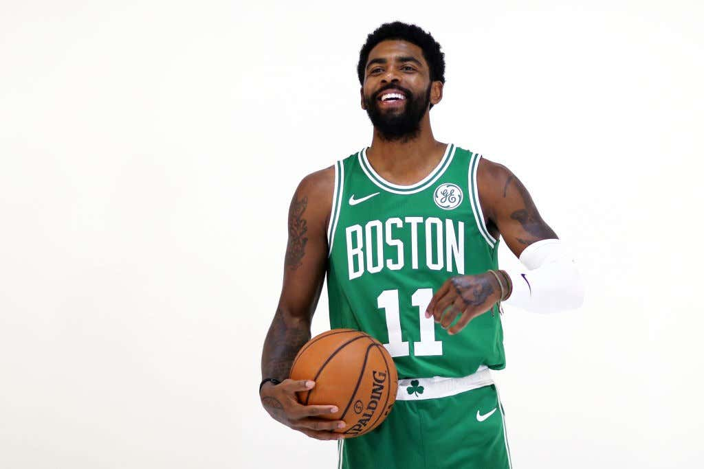 b4941789bcf6 BREAKING  Kyrie Irving Declares He Will Be Re-Signing This Summer ...