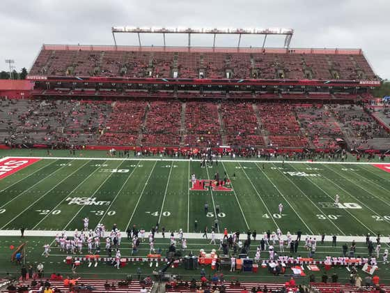 Rutgers Holds The Most Depressing Blackout In College Football History