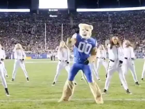 Will BYU's Cosmo The Cougar Get Banned From The Mormon Church For This Dance?!