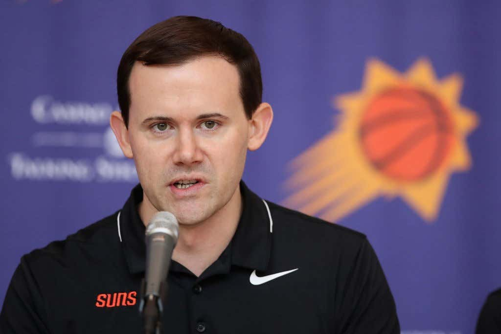 309b0a52c Phoenix Suns Introduce 2018 Draft Picks