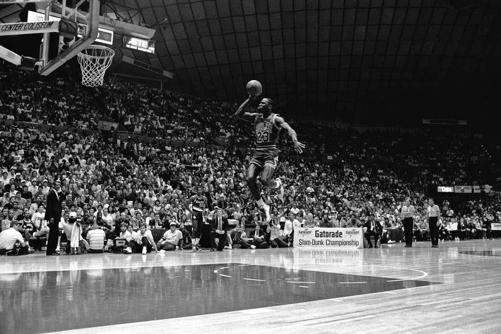 1987 All Star Slam Dunk Contest: Michael Jordan