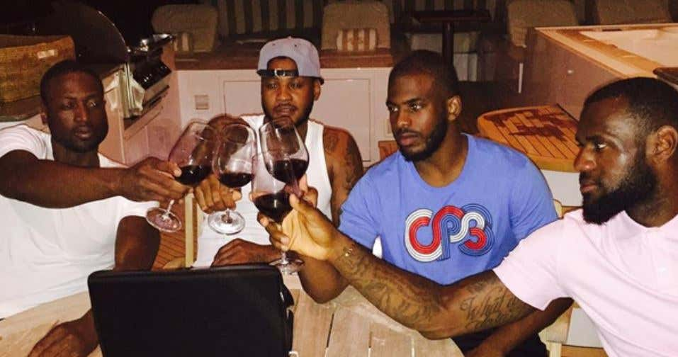 Image result for lebron wine