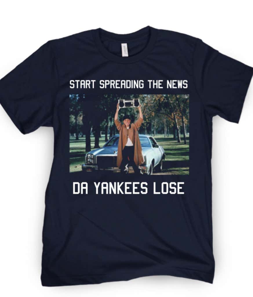 b0e81ffc New York New York Shirts On Sale Now (Big Papi Approved) - Barstool ...