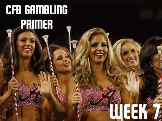 College Football Gambling Primer: Week 7