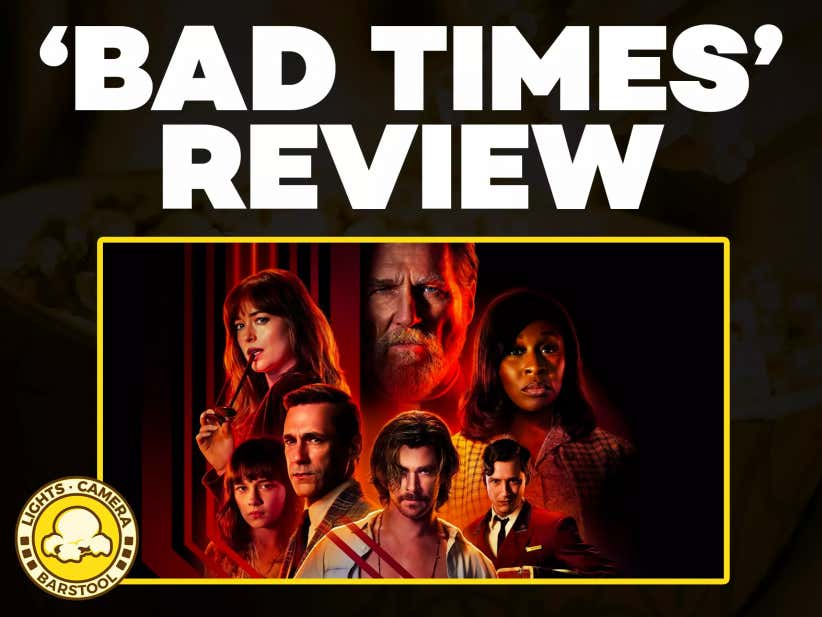 Movie Review: Bad Times at The El Royale, A Fun Movie Bogged Down By A Long, Choppy Story