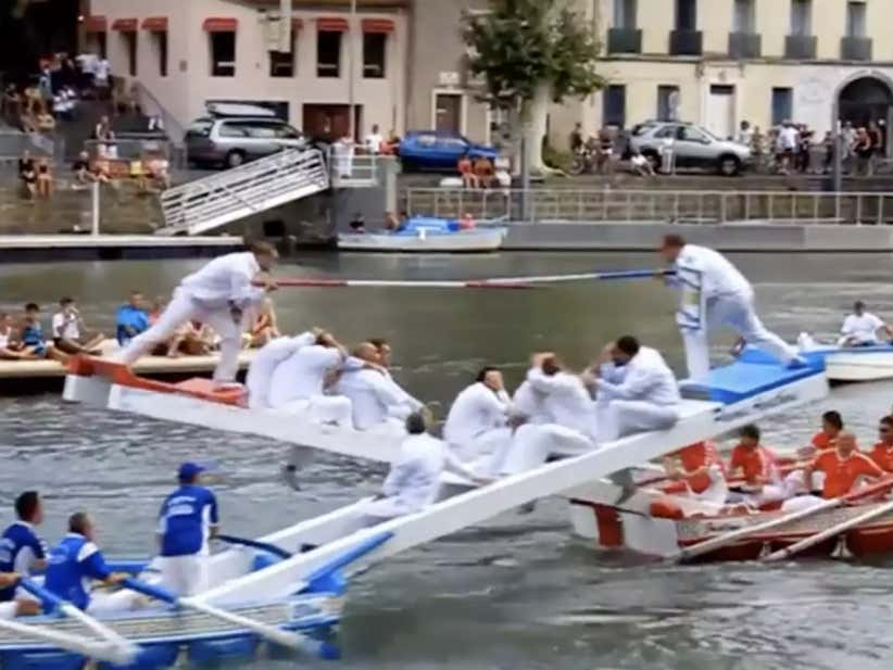 Does Water Jousting Need Enforcers?