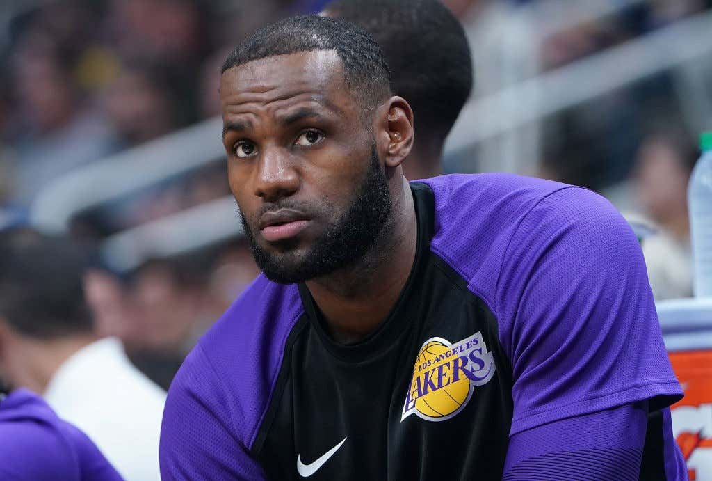 a7153d8cefb Did LeBron Make A Mistake Signing In LA Longterm  - Barstool Sports