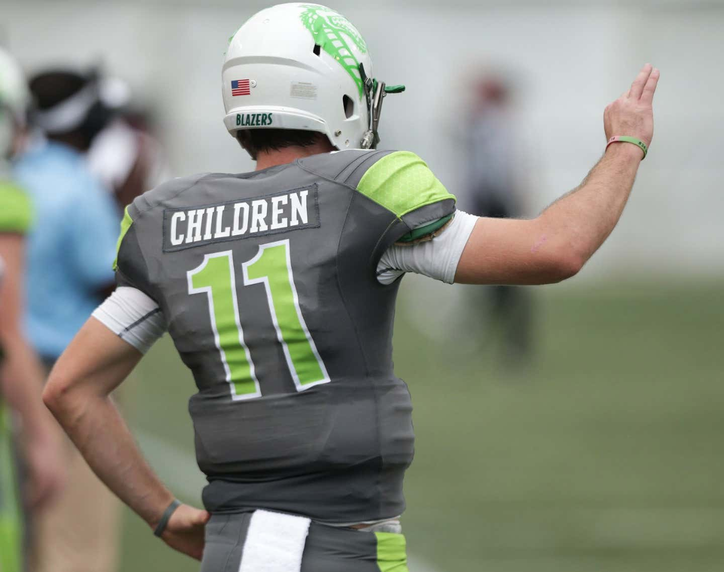 d489ad94a AWESOME  UAB To Wear Children Hospital Patients Names On Jerseys This  Weekend
