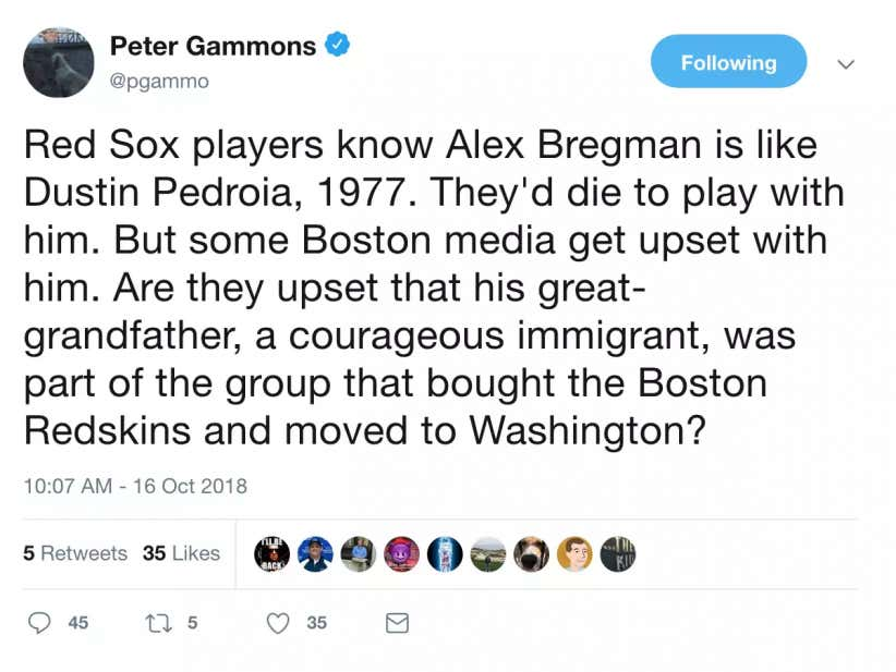 Nobody Is Hotter This October Than Peter Gammons