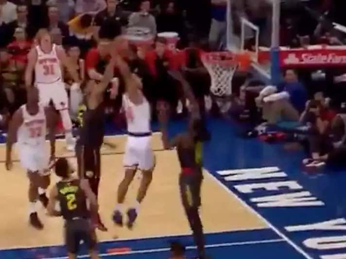 Allonzo Trier Just Caught A Body