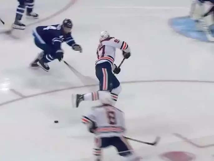 After Further Review, I Am Now Thoroughly Convinced That Connor McDavid Planned This Toe-Drag, Fake Shot, Drop Pass To Ty Rattie