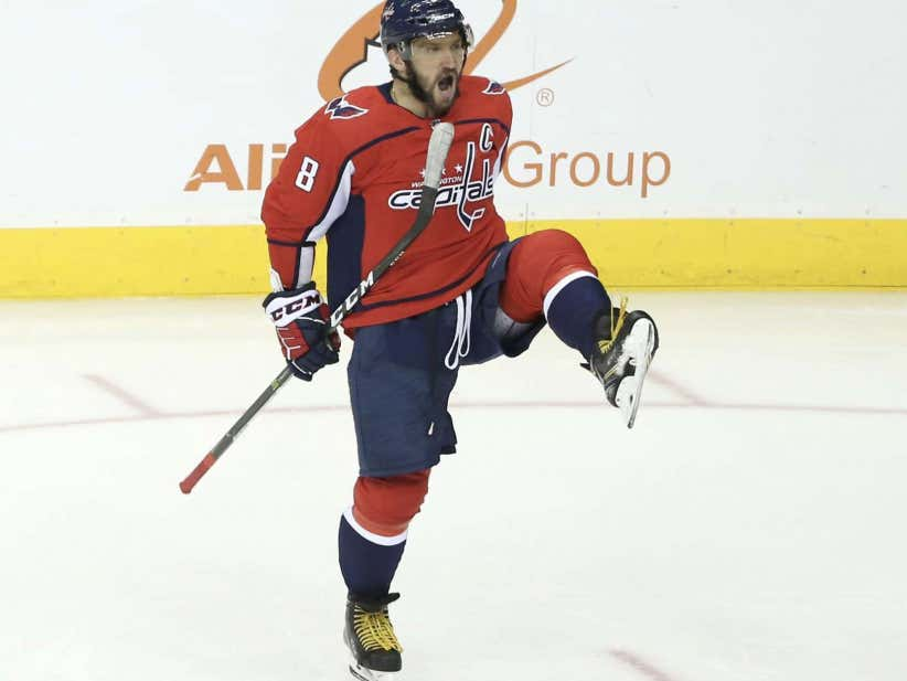 Death. Taxes. And Alex Ovechkin Shooting Missiles From His Office.