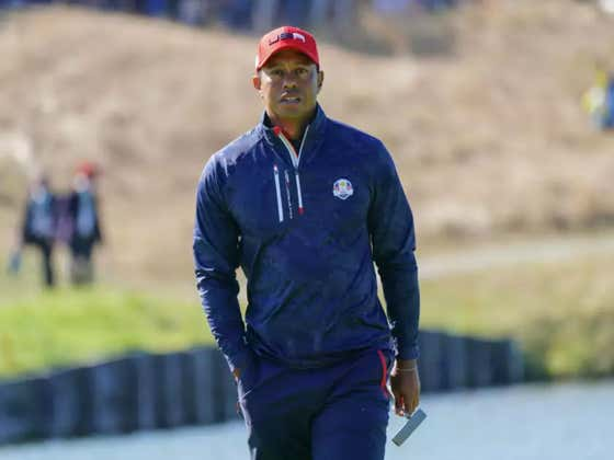 Tiger Says He Sucked At The Ryder Cup Because He Was Tired From Being Unexpectedly Good This Year