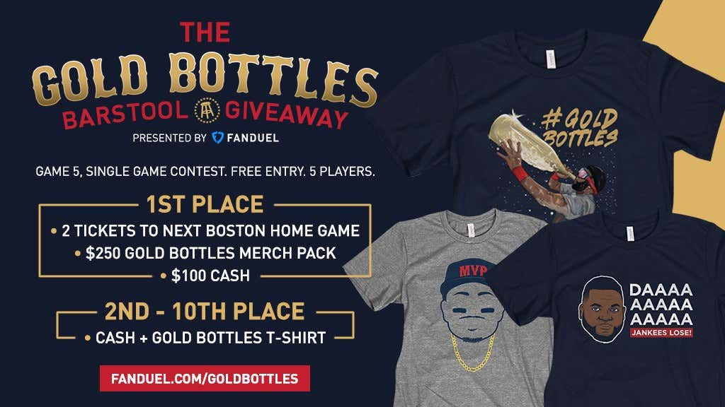 Fanduel Is Doing It Again Join Tonights Free Gold Bottles Contest