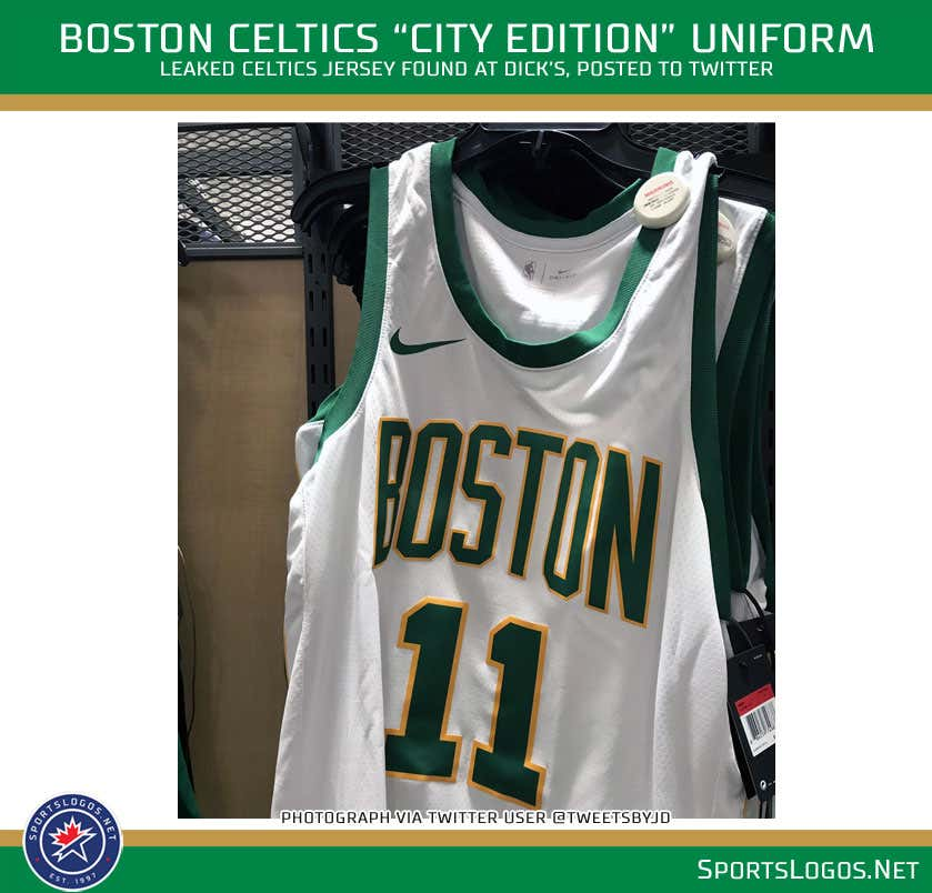 Oh My God The Leaked Celtics City Jersey Is Beautiful - Barstool Sports 56efdbf0e
