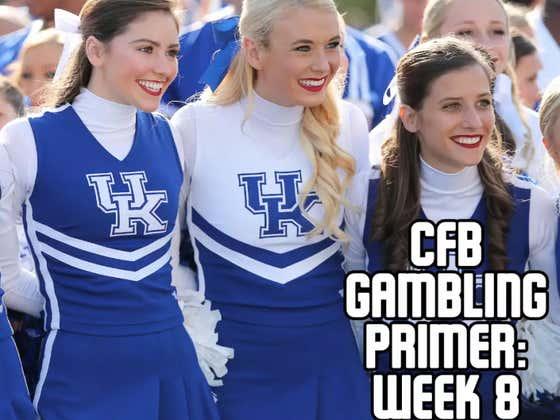 College Football Gambling Primer: Week 8