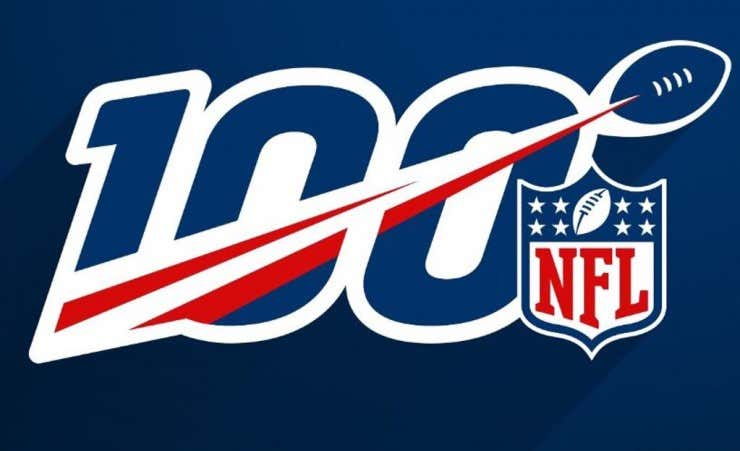 So THIS is the NFL s 100th Anniversary Logo  - Barstool Sports e268d6571