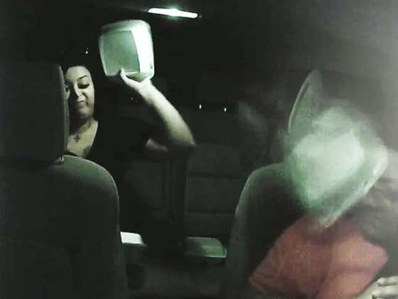 Uber Passenger Throws Tacos At Her Driver After Driver Refuses To Take Them Back To The Bar