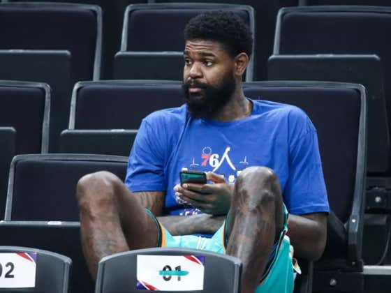 My Dude Amir Johnson Is Not Taking Any Shit Right Now
