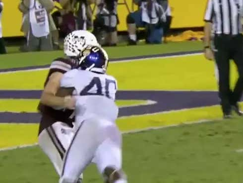 LSU Will Be Without Their Best Defensive Player For 1st Half Against Bama Thanks To This Awful Targeting Call