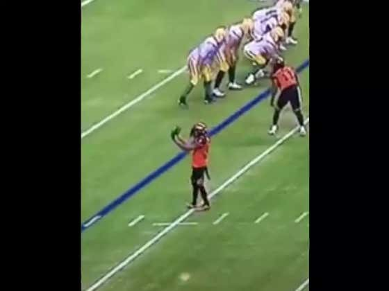 Football Player Taunts A Bigger, Faster, Stronger Football Player And Instantly Gets BLOWN UP