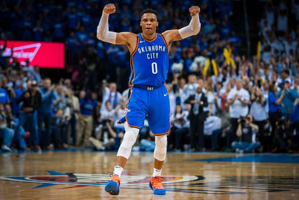 0ac8d3e36e19 Russell Westbrook Is Returning To Action Tonight - Barstool Sports